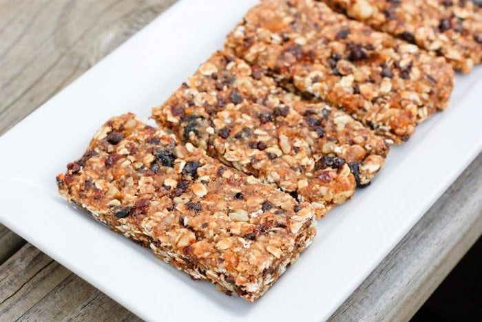 Simply Fruit And Nut Bars Eating Bird Food