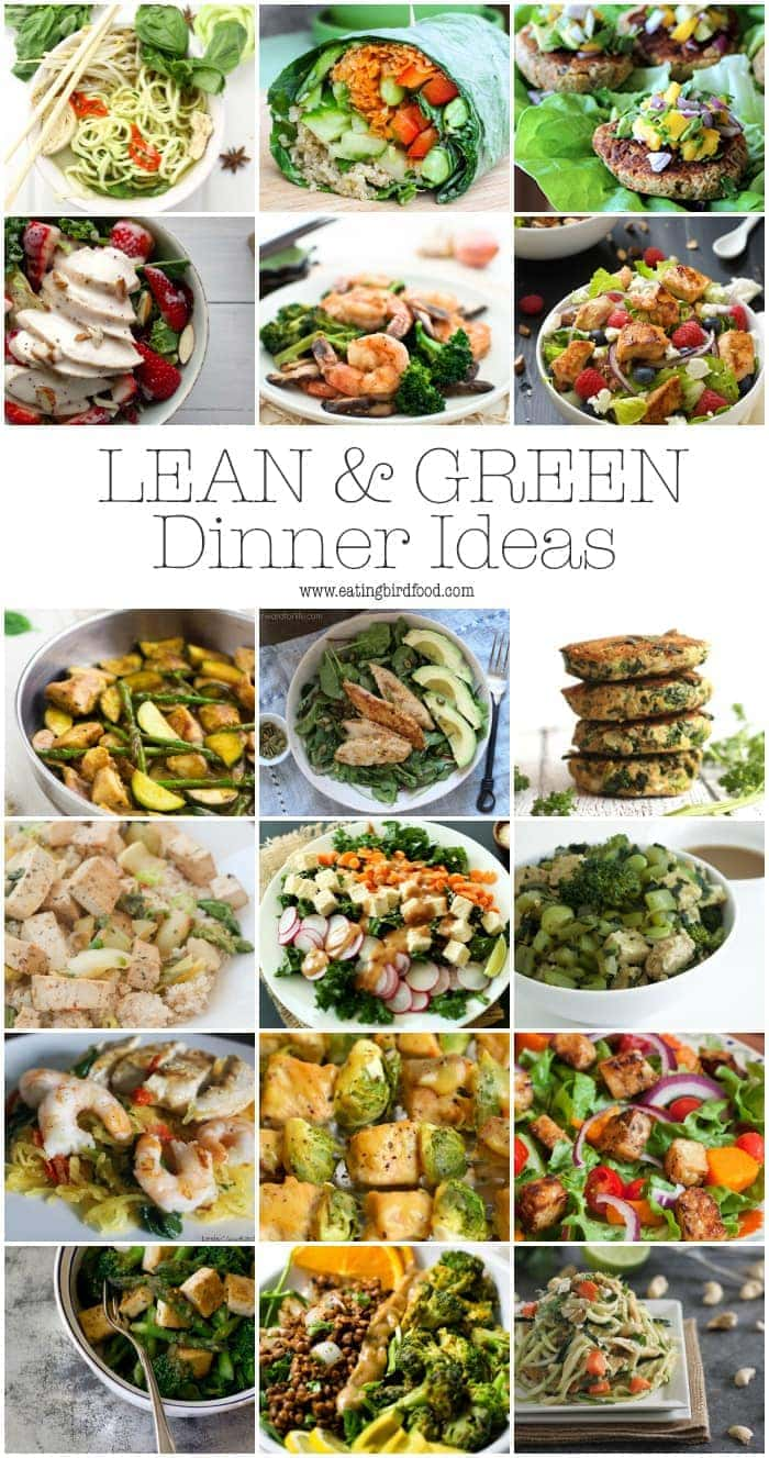what foods to eat on a lean diet